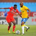 Football - 2014 Telkom Knockout - Last 16 - Mamelodi Sundowns v University of Pretoria  - Loftus Stadium