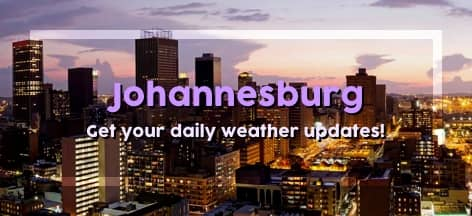 Enter Your Number Below To Subscribe To Weather Johannesburg For R2 00 Day
